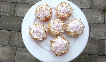 Lemon meringue cupcakes - citron cupcakes marengs