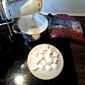 frosting med skumfiduser