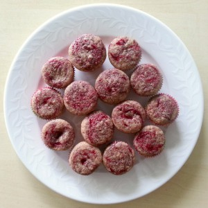 Vanilla Strawberry Swirl Cupcakes - Vaniljecupcakes med jordbær