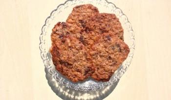Double chocolate walnut cookies - Dobbelt chokoladecookies med valnødder