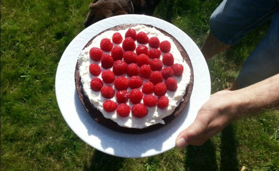 Glutenfri chokoladekage uden mel