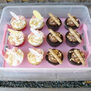Ferrero Rocher Cupcakes og Citroncupcakes med marengs